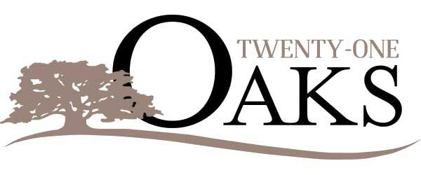 Twenty One Oaks neighborhood logo