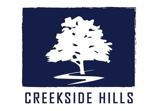 Creekside Hills Neighborhood Logo
