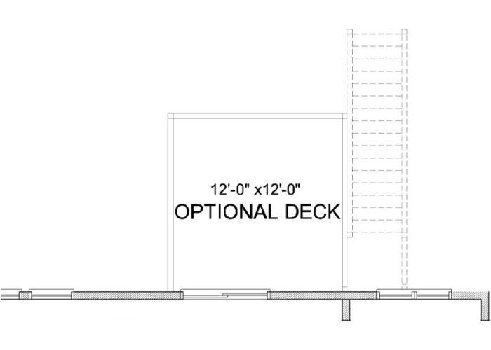 Carmen Plan Main Level Deck Option 1 A