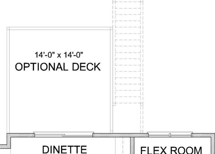 Harriet Plan Main Level Deck Option 1 A
