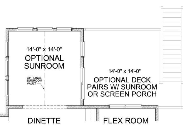 Harriet Plan Main Level Deck Option 1 C