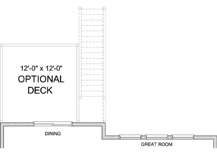 Marion Plan Main Level Deck Option 1 A