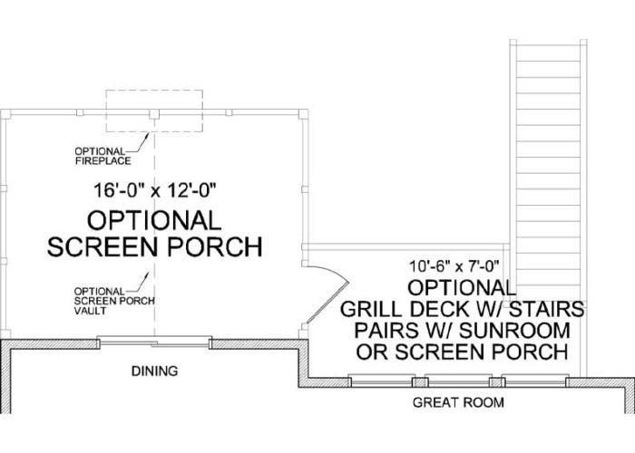 Marion Plan Main Level Deck Option 1 B