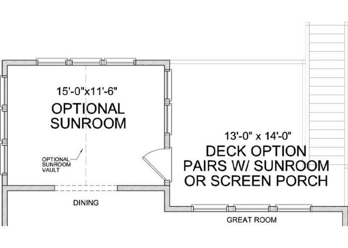 Marion Plan Main Level Deck Option 1 C