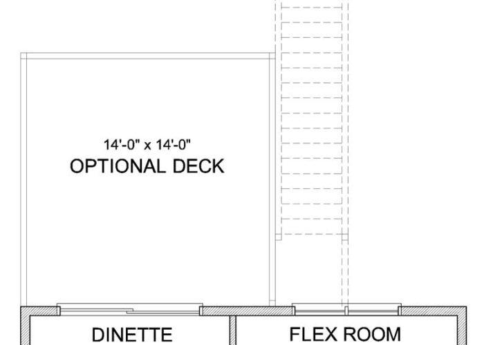 Pepin Plan Main Level Deck Option 1 A