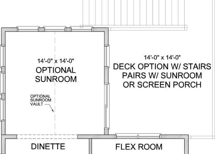 Pepin Plan Main Level Deck Option 1 C