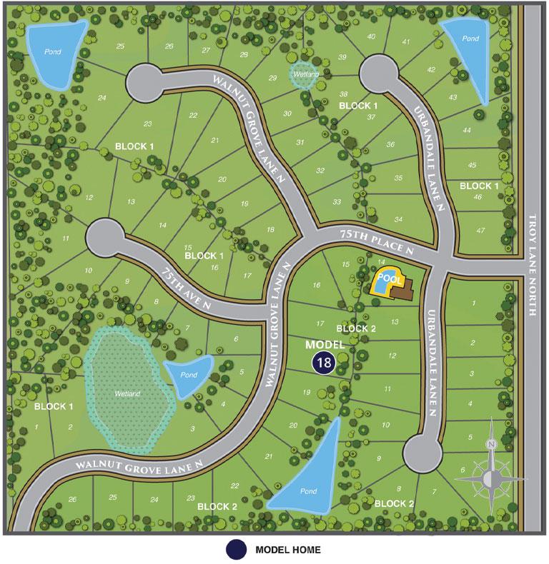 Woods At Rush Creek Site Map Web 04.10.19