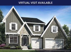 9016 Bur Oak Court Riley Elevation D Rendering Feature Virtual Visit