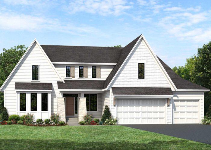 Mississippi home plan Elevation F rendering