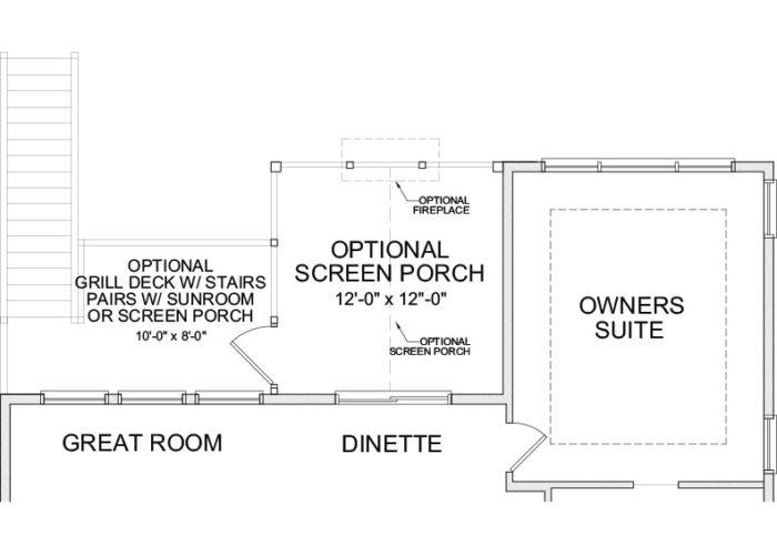 Web Floorplan 3 Gr Maxwell A 1 24 20 Base Ml Opt Scrn Prch W Opt Grill Deck W Stairs