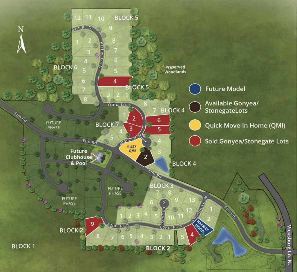 The Ridge At Elm Creek Map Web 04152021