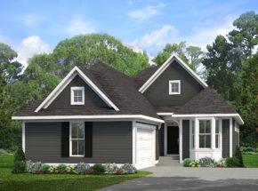 Stonegate Lafayette C home plan villa one story