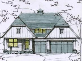 Palmer Elevation E Sketch